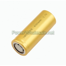 Wholesale INR 26650 4000mAh 3.7V Flat top Rechargeable LiMn battery (1pcs)
