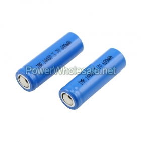 Wholesale IMR 14430 3.7v 600mah battery(2 pcs)