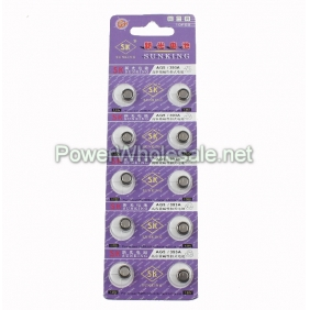 Wholesale SUNKING SK AG5 1.55V Alkaline Button Cells
