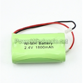 Wholesale Rechargeable 2.4V AA 1800mAh NI-MH Battery Pack
