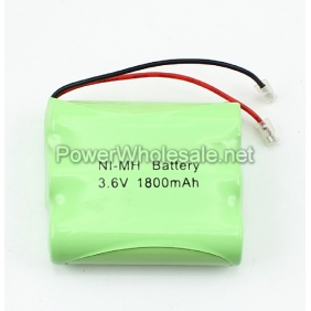 Wholesale Rechargeable 3.6V AA 1800mAh NI-MH Battery Pack