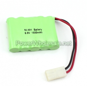 Wholesale Rechargeable 6V AA 1800mAh NI-MH Battery Pack