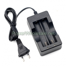 Wholesale 18650 double Slot Charger for Rechargeable Li-ion Battery