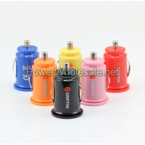 Wholesale Dual USB Griffin colourful Car Charger