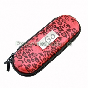 Wholesale 2012 most popular ego bag for e-cig with red leopard (small)