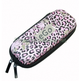 Wholesale 2012 most popular ego bag for e-cig with PINK leopard (small)