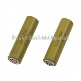 Wholesale High quality LGABC11865 18650 2800mah 3.7V Rechargerable battery with flat top--1pc