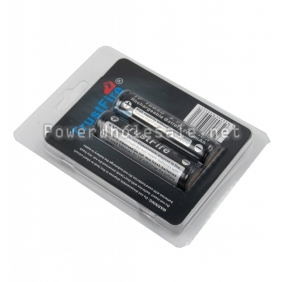 Wholesale TrustFire TF18650 2600mah Li-ion 3.7 V protected Rechargeable battery(2pc)