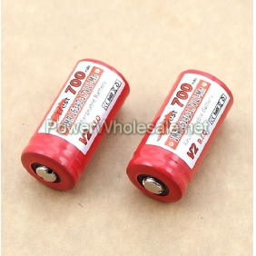 Wholesale Efest IMR 16340 700mah 3.7V battery with button top
