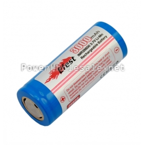 Wholesale Efest IMR 26650 3000mah 3.7V rechargeable battery (1pc)