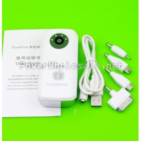 Wholesale Universal Portable Power Bank 5600mah H8 For iPhone 5,Samsung Galaxy S2/S3