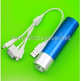 Wholesale M3 4000mAh Power Bank with LED flashlight  ForiPhone5,Samsung Galaxy S2/S3