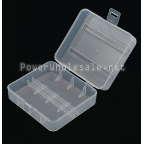 Wholesale 2 X 26650 Battery Protective Case with Clear color