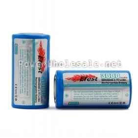 Wholesale Efest IMR 26500 3000mah 3.7v LiMn Rechargeable Battery(1pc)