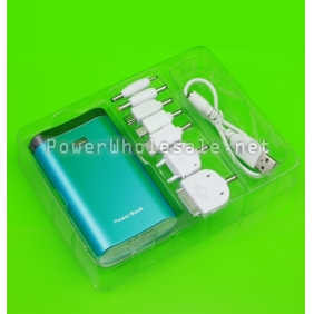 Wholesale Trendy GZ680 7800mAh Mobile External Power Battery Charger for iPhone 4/4S, Various Cell Phones and Digital Devices (Blue)