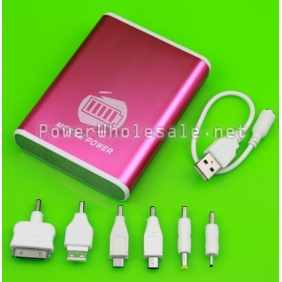 Wholesale 12000mAh Portable Mobile Power Bank Charger for iPhone iPad iPod Table