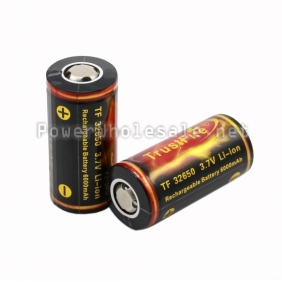 Wholesale Torch Color Trustfire TF32650 3.7v 6000mah Rechargeable Li-ion Battery(1pc)