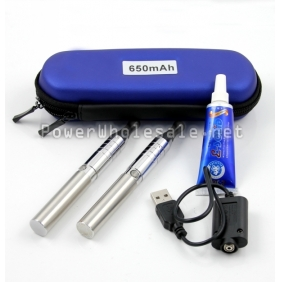 Wholesale 2013 Hotsell EGO Q 650mah kit with Atomizer EGO USB Charger e-solid wall charger in ego carring case M5-65T XP