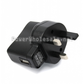 Wholesale 5V 1A USB LED wall charger with UK plug