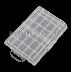 Wholesale Battery transparent case for AA battery (10*AA)