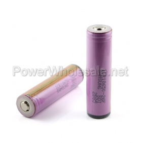Wholesale Purple Samsung 18650 2600mah Rechargeable 3.7V Protected Li-ion Battery with Nipple(2pcs)