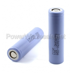 Wholesale Samsung ICR18650-28A 2800mah Rechargeable 3.7V Li-ion Battery(2pc)