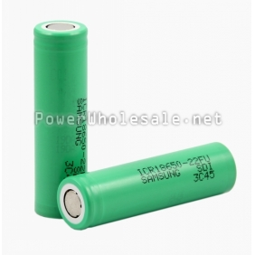 Wholesale Samsung ICR 18650-22FU-2200mAH 3.7v Rechargeable li-ion Battery(1pc)