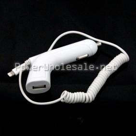 Wholesale New arrived Long car charger Universal charger USB line charger for smart phone