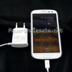 Wholesale EU Plug Micro USB Home Charger for Samsung Galaxy S2/S3/S4
