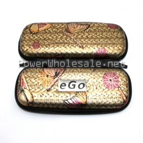 Wholesale ButterFly designing Ego Case Long Middle Ego Carrying zipper case