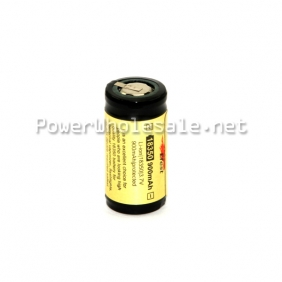 Wholesale Efest 18350 900mAh 3.7V Protected Rechargeable Li-ion Battery with flat top(1pc)