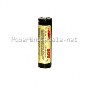 Wholesale Efest 14500 800mAh 3.7V Protected Rechargeable Li-ion Battery with button top(1pc)