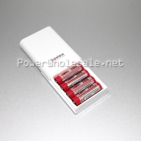Wholesale 4*14500/AA/AAA battery with USB line Soshine SC-EAA Mobile Power Bank