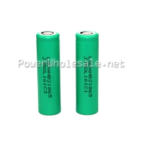 Wholesale LGDAHB21865 18650 1300mAh 3.7V high drain battery in green color