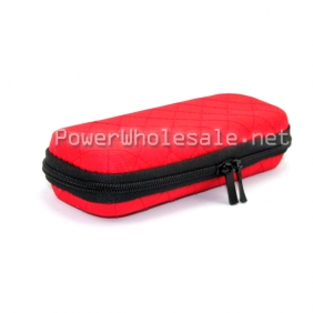Wholesale 2013 New Red Squares ego carrying zipper case Big size