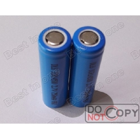Wholesale DLG ICR14500 3.7V 750mAh lithium ion Rechargeable Batteries (2 pcs)