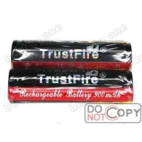 Wholesale TrustFire TF14500 900mAh 3.7V protected li-ion Battery ( 2 pcs )