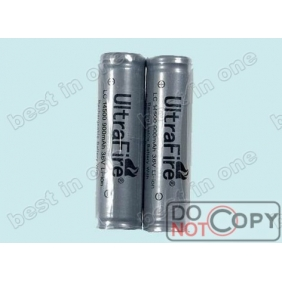 Wholesale UltraFire LC14500 Protected Li-ion Rechargeable Battery ( 2 pcs)