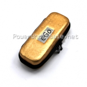 Wholesale 2013 New Golden color Small ego carrying Zipper case