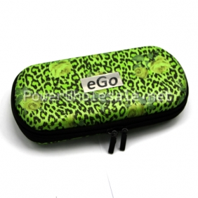 Wholesale 2013 New Green Rose flower designing ego Carrying zipper case Big Size