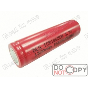 Wholesale DLG ICR18650 High Rate 1400mah 3.7V Rechargeable battery (2 pcs)