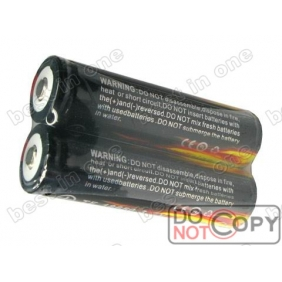 Wholesale TrustFire TF18650 2400mAh 3.7V Protected li-ion Battery ( 2 pcs )