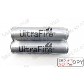 Wholesale UltraFire LC17670 1800mAh 3.7V Protected Li-ion Rechargeable Battery ( 2 pcs)