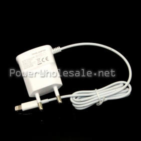 Wholesale Portable travel white charger for Iphone 5
