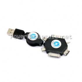 Wholesale high quality black multi-functional USB charger