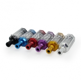 Wholesale New Invention Pyrex tank s3000 rebuildable atomizer with silver,gold,purple,red,blue,black colors for your choice