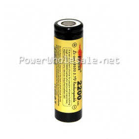 Wholesale Efest 18650 2200mah li-ion battery with flat top