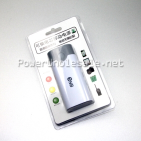 Wholesale 5v 1A eNB Interchangeable core mobile power bank