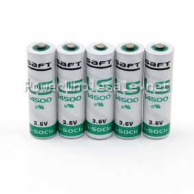 Wholesale SaFT LS 14500 3.6V button top battery