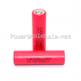 Wholesale 35A LG HE2 18650 2500mAH battery li-ion rechargeable battery